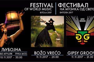 Фестивал на музика од светот 2017